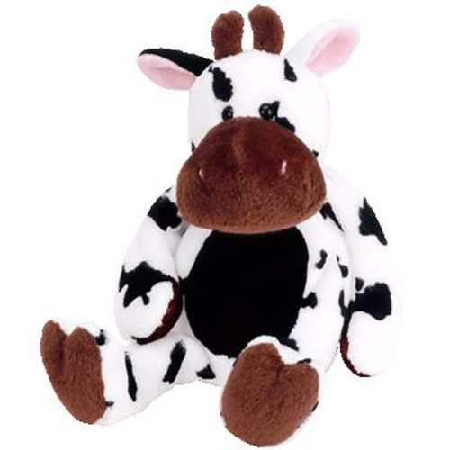 TY Beanie Baby - TIPSY the Cow (9 inch)  BBToyStore.com - Toys c219372a606