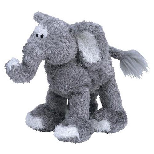 TY Beanie Baby - TOOTOOT the Elephant (6.5 inch) - MWMTs Stuffed Animal Toy