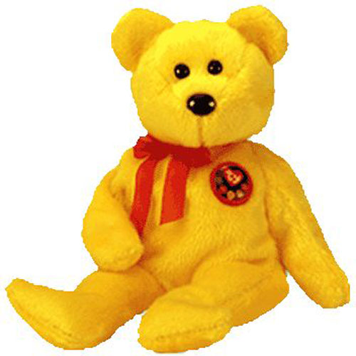 Ty Beanie Baby Tradee The E Bear Internet Exclusive 8 5 Inch