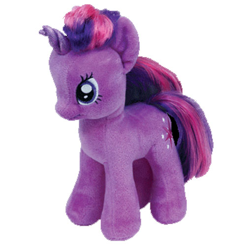 TY Beanie Baby TWILIGHT SPARKLE No wings My Little