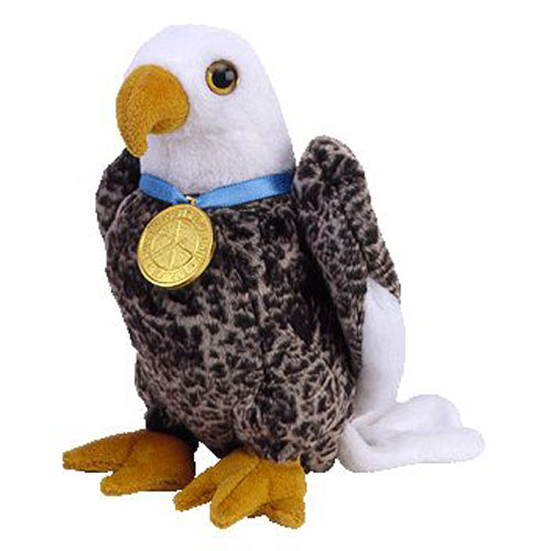 Ty Beanie Baby Valor The Eagle Internet Exclusive 6 Inch