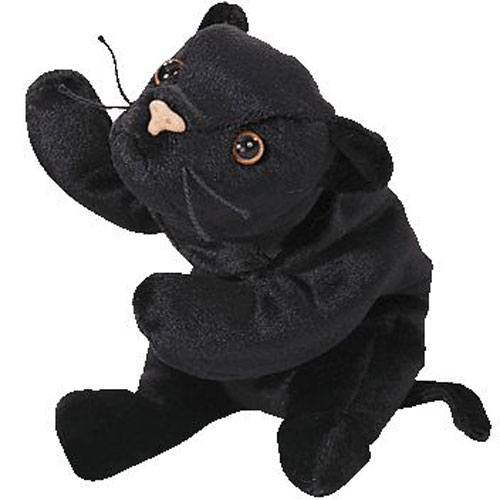 547681292cb TY Beanie Baby - VELVET the Black Panther (4th Gen hang tag) (8.5 inch)   BBToyStore.com - Toys