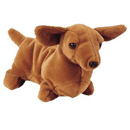 Ty Beanie Baby Weenie The Dachshund Dog 7 5 Inch Bbtoystore Com