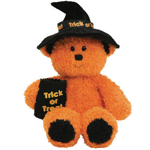 Ty Beanie Baby Witchy The Halloween Bear 7 Inch