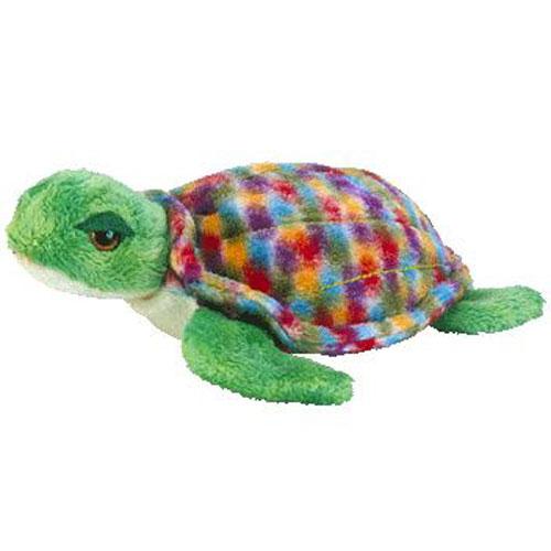 TY Beanie Baby - ZOOM the Sea-Turtle (6 inch)  BBToyStore.com - Toys ... 068c837219b