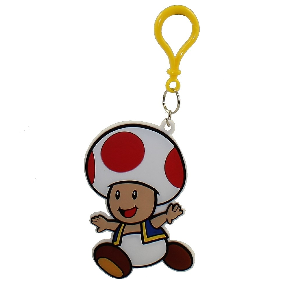 Enterplay - Super Mario Hanger & Trading Card - TOAD (Hanger ONLY)(3.5 inch)