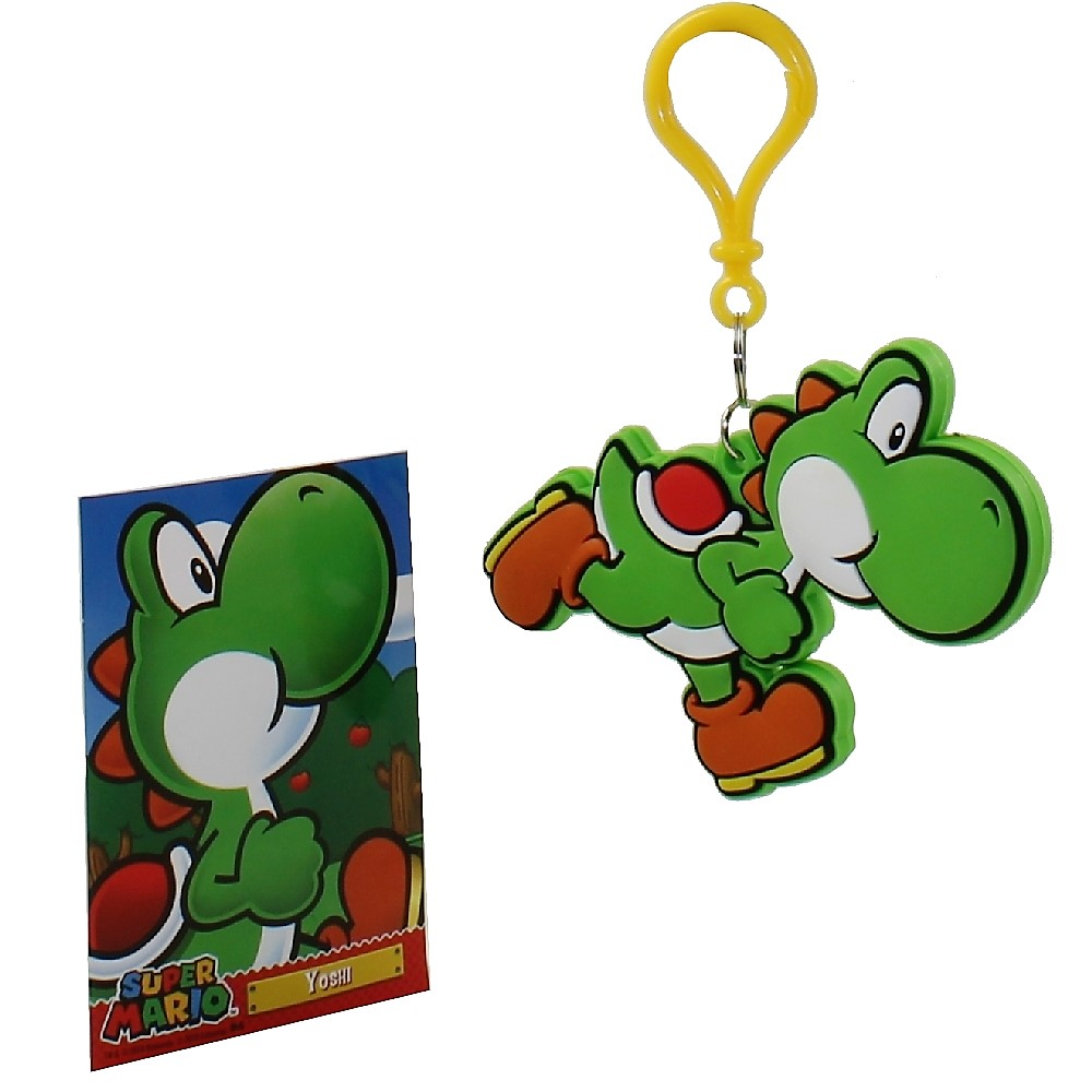 Enterplay - Super Mario Hanger & Trading Card - YOSHI (Hanger & Matching Card)(3.5 inch)