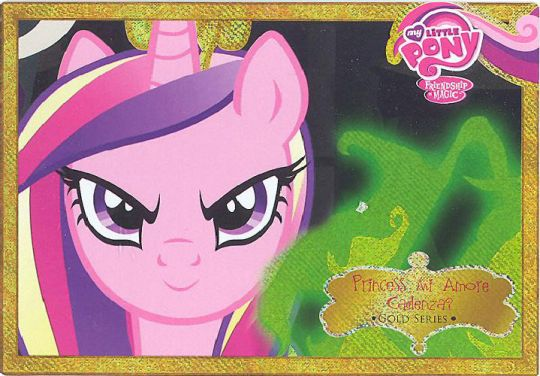 My Little Pony - CCG Friendship is Magic S2 - #G5 - PRINCESS MI AMORE  CADENZA (Hologram Box Topper)