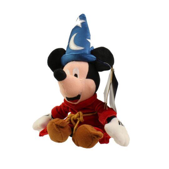 11ff06ce79a Disney Bean Bag Plush - FANTASIA SORCERER MICKEY (Mickey Mouse) (11.5  inch)  BBToyStore.com - Toys