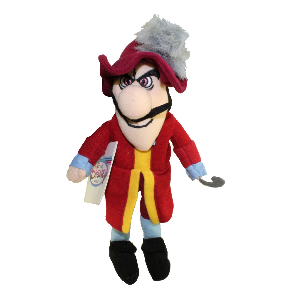 Disney Bean Bag Plush - CAPTAIN HOOK (Peter Pan) (10.5 inch)