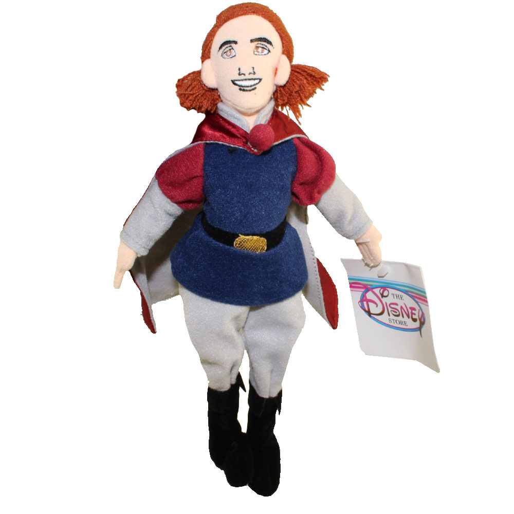 Disney Bean Bag Plush - PRINCE PHILLIP (Sleeping Beauty) (10 inch)