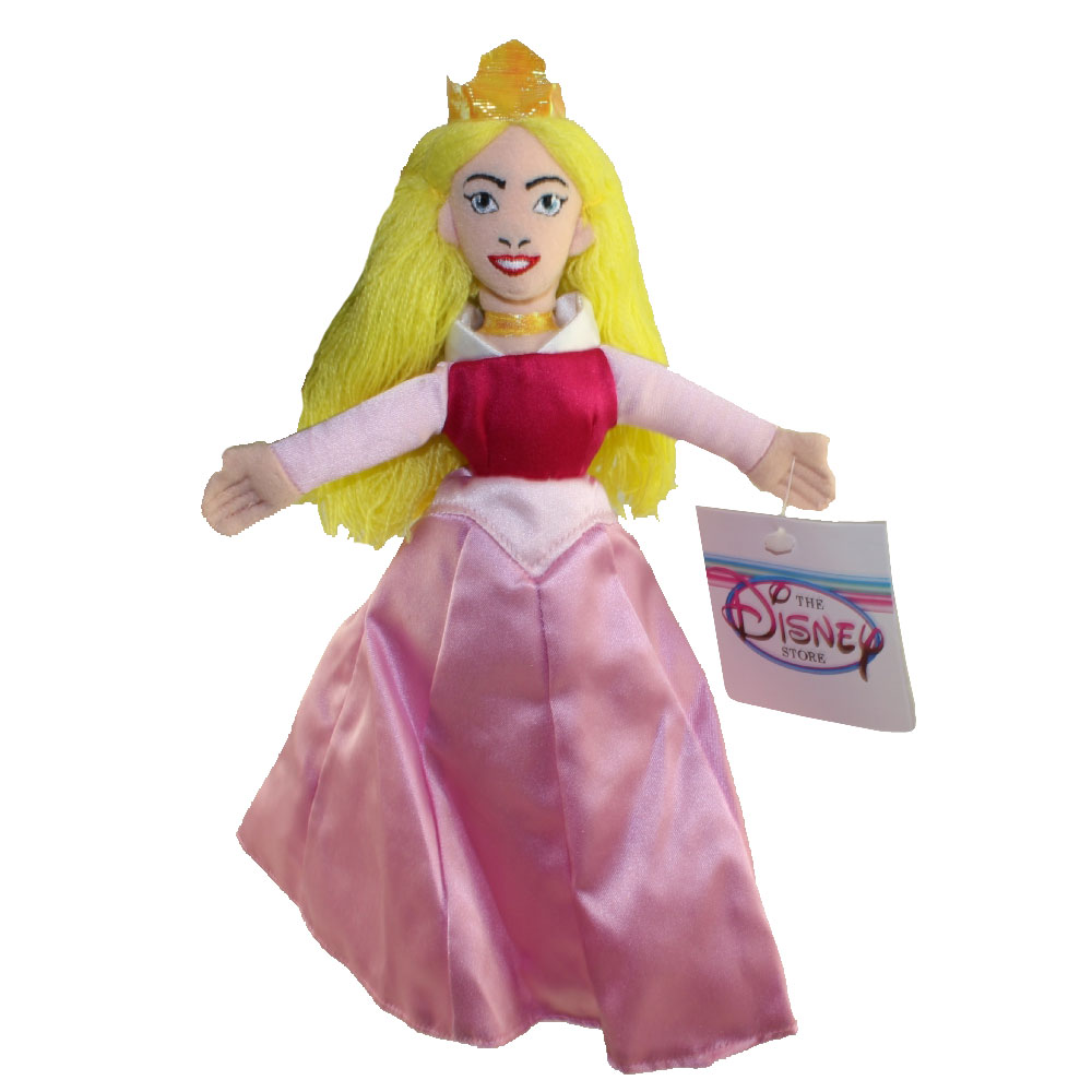 Disney Bean Bag Plush - PRINCESS AURORA (Sleeping Beauty) (10 inch)