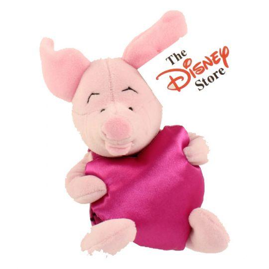 Disney Bean Bag Plush Valentine Piglet W Heart Winnie The Pooh