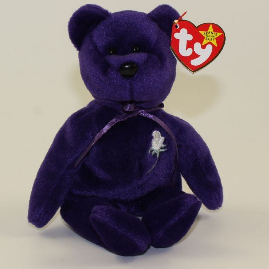 a1edee0677f TY Beanie Baby - PRINCESS the BEAR (ERROR Backwards Tush Tag) ODDITY  MWMT s  BBToyStore.com - Toys