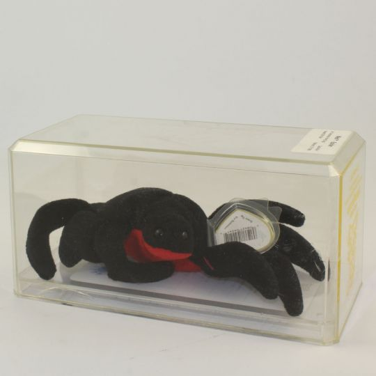 f5fe6e2fe64 Authenticated TY Beanie Baby - WEB the Spider (3rd Gen Hang Tag - 99%  Mint)  BBToyStore.com - Toys