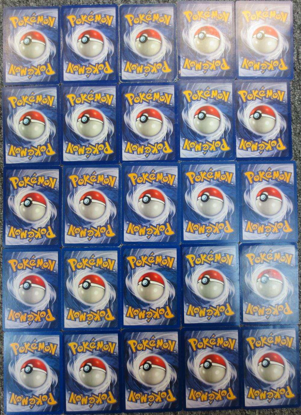 Lot of 25 Black Star Promo Rare Pokemon Cards (Mew Mewtwo Dragonite  Moltres) *NM/Played*