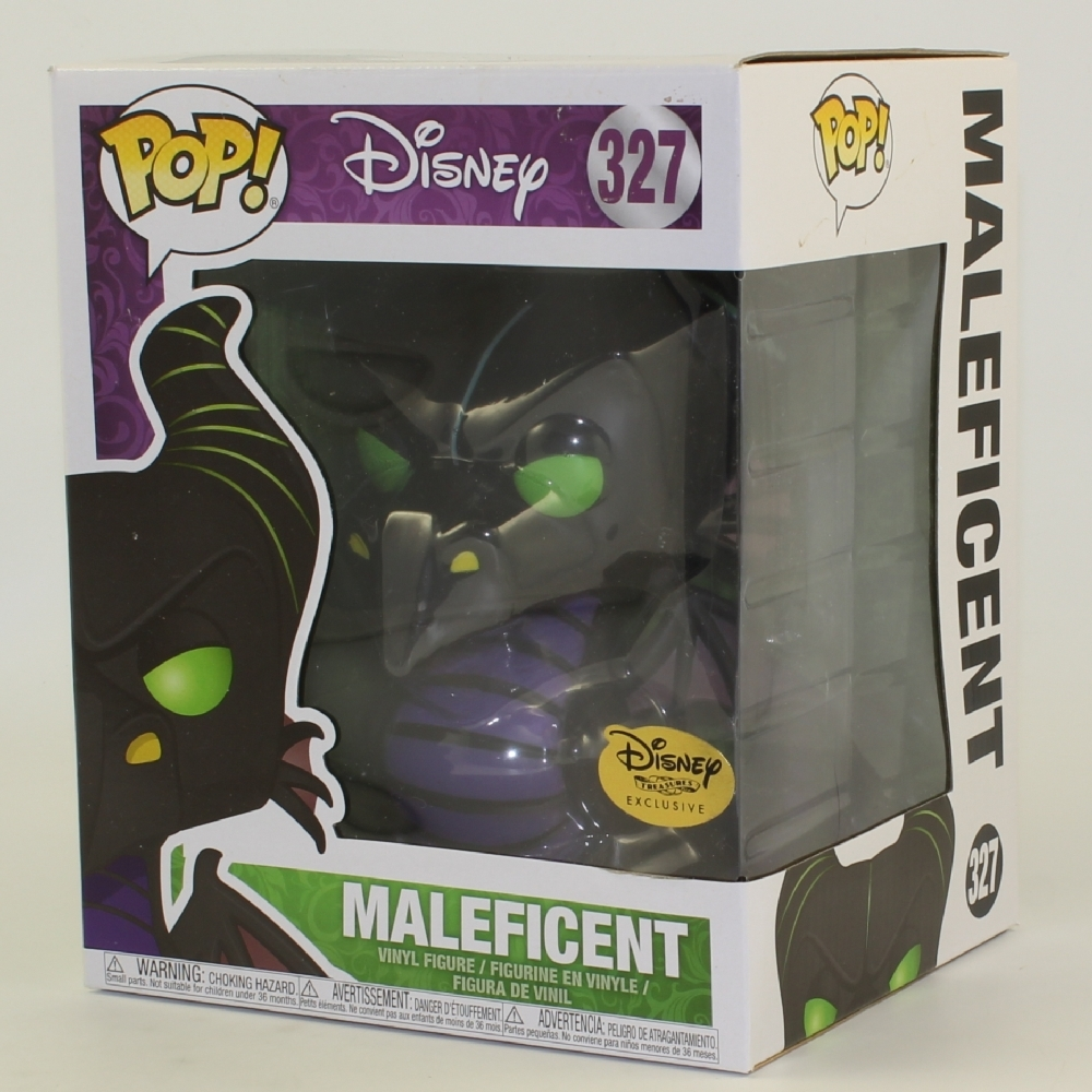 Funko POP! Disney - Sleeping Beauty Vinyl Figure - MALEFICENT (Dragon) #327 (Exclusive) *NM BOX*