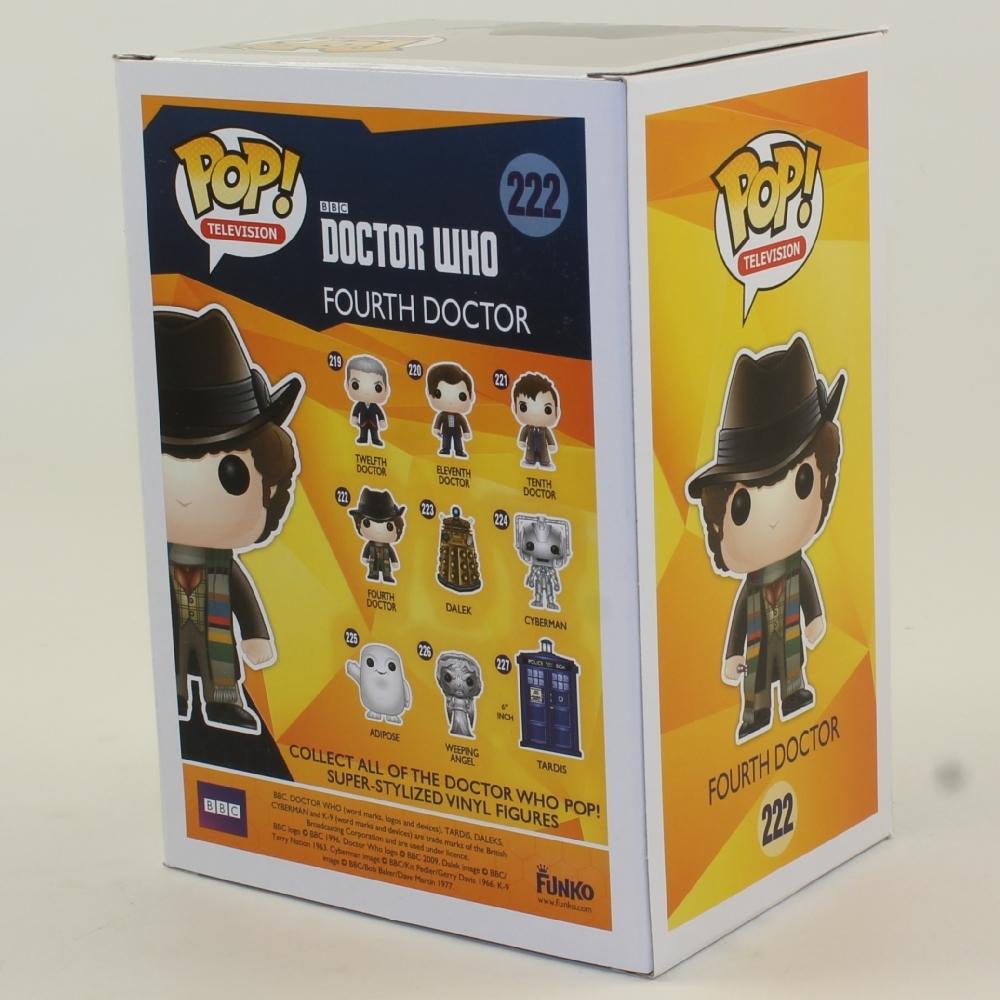 Funko POP! Television - Doctor Who Vinyl Figure - FOURTH DOCTOR (4th) #222  *NON-MINT BOX*