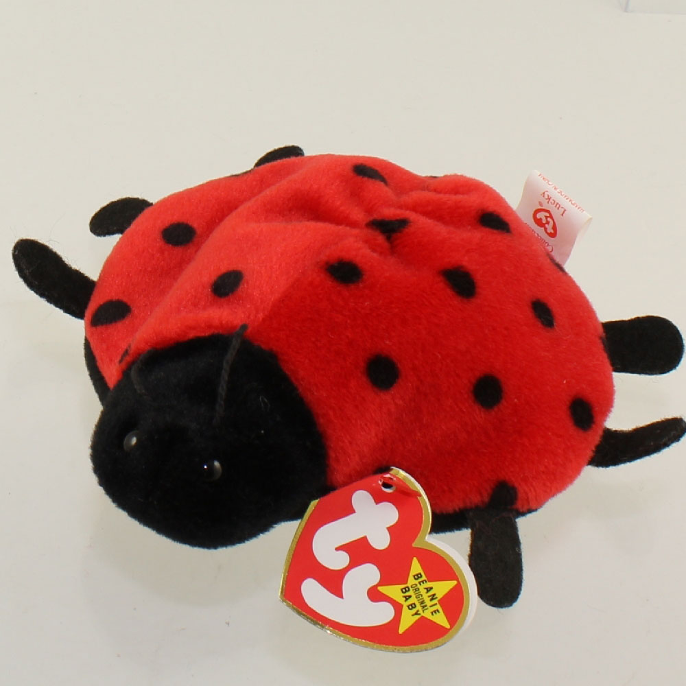 Ty Beanie Baby Lucky The Ladybug 21 Spot Version