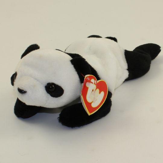 cbc0d7abae9 TY Beanie Baby - PEKING the Panda Bear (3rd Gen Hang Tag - MWNMTs)   BBToyStore.com - Toys