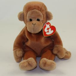 "TY Beanie Babies /""BONGO PERFECT GIFT! RETIRED Tan Tail /"" the Monkey MWMTs"
