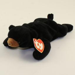 574cc7134d1 TY Beanie Baby - BLACKIE the Bear (3rd Gen Hang Tag - MWNMTs)