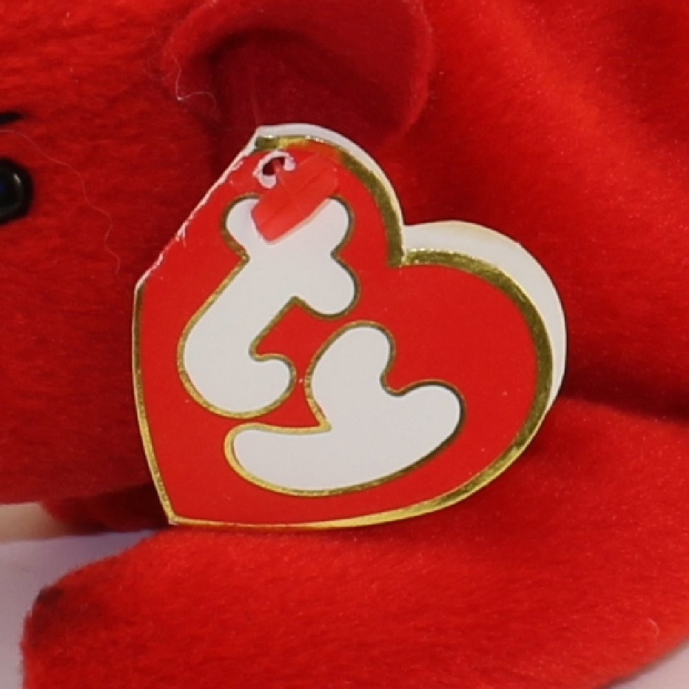 b2441d302f96d6 TY Beanie Baby - GRUNT the Razorback (3rd Gen Hang Tag - MWNMTs ...