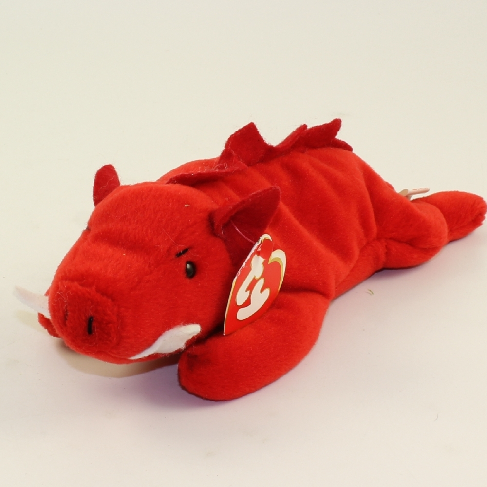 4c188f62861 Details about TY Beanie Baby - GRUNT the Razorback (3rd Gen Hang Tag -  MWNMTs)