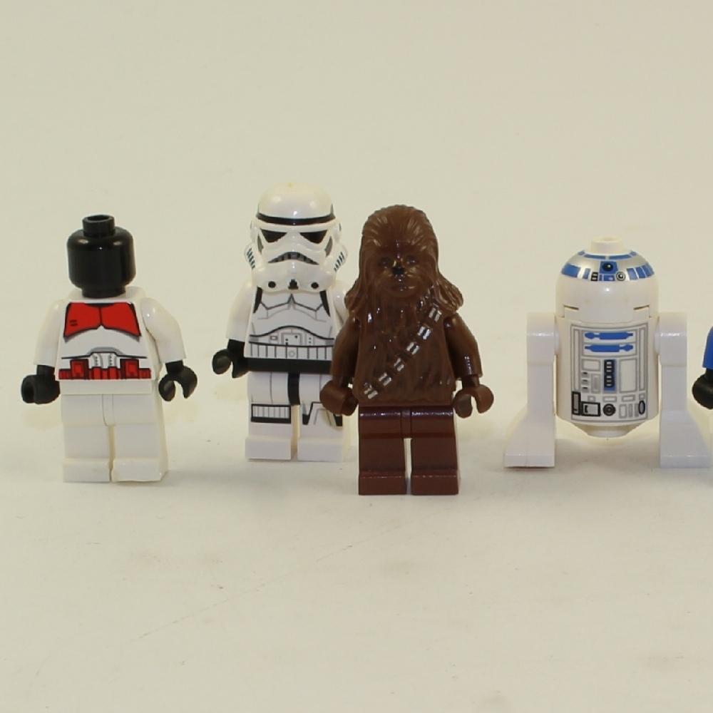 LEGO Star Wars Minifigures Lot Clone Stromtrooper R2-D2 Hoth Skywalker Chewbacca