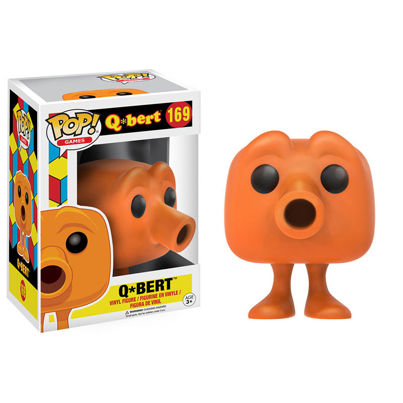 Funko Pop Games Q Bert Vinyl Figure Q Bert