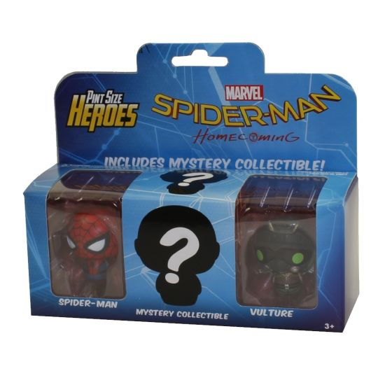 Funko Pint Size Heroes Vinyl Figures - Spider-Man Homecoming - 3-PACK #2  (Vulture, Spider-Man +1)