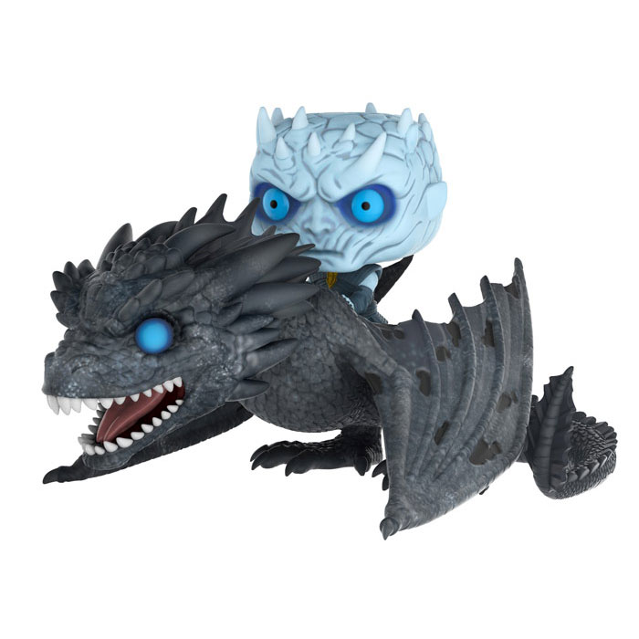 Funko POP! Rides - Game of Thrones Vinyl Figure - NIGHT KING on Viserion (Pre-order Ships Winter)