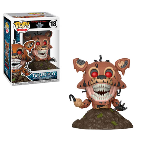 Funko POP! Books - FNAF The Twisted Ones Vinyl Figure - TWISTED FOXY #18
