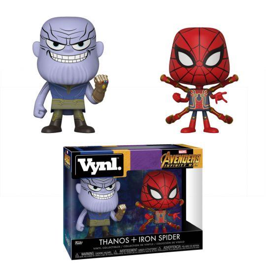 Funko Vynl  Figures 2-Pack - Avengers Infinity War - THANOS & IRON SPIDER