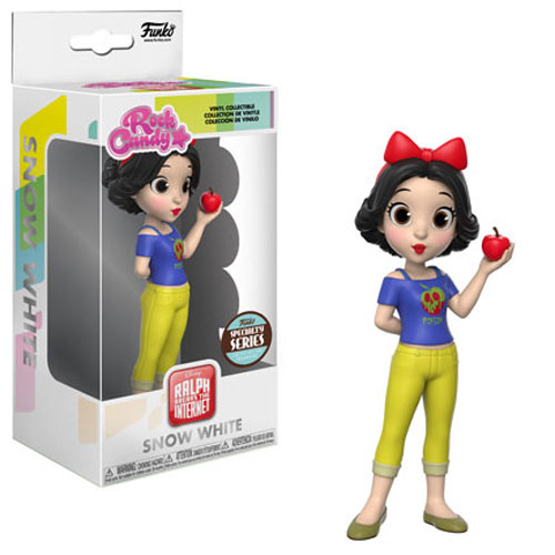 Funko Rock Candy - Ralph Breaks the Internet Vinyl Figure - SNOW WHITE