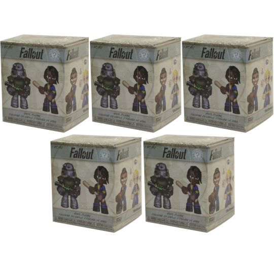 Funko Mystery Mini Figure Blind Packs DC Super Heroes /& Pets 5 Pack Lot