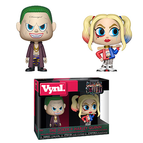 Funko Vynl. Figures 2-Pack - Suicide Squad - THE JOKER & HARLEY QUINN