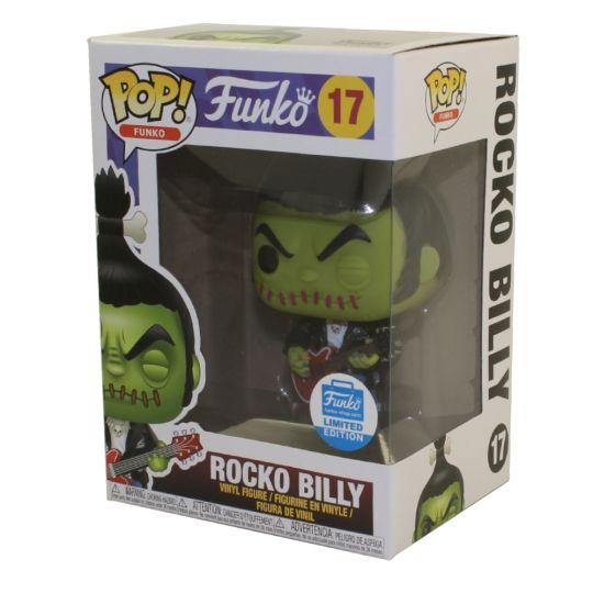 Rocko Billy SPASTIK PLASTIK EXCLUSIVE Funko Pop Vinyl New in Box