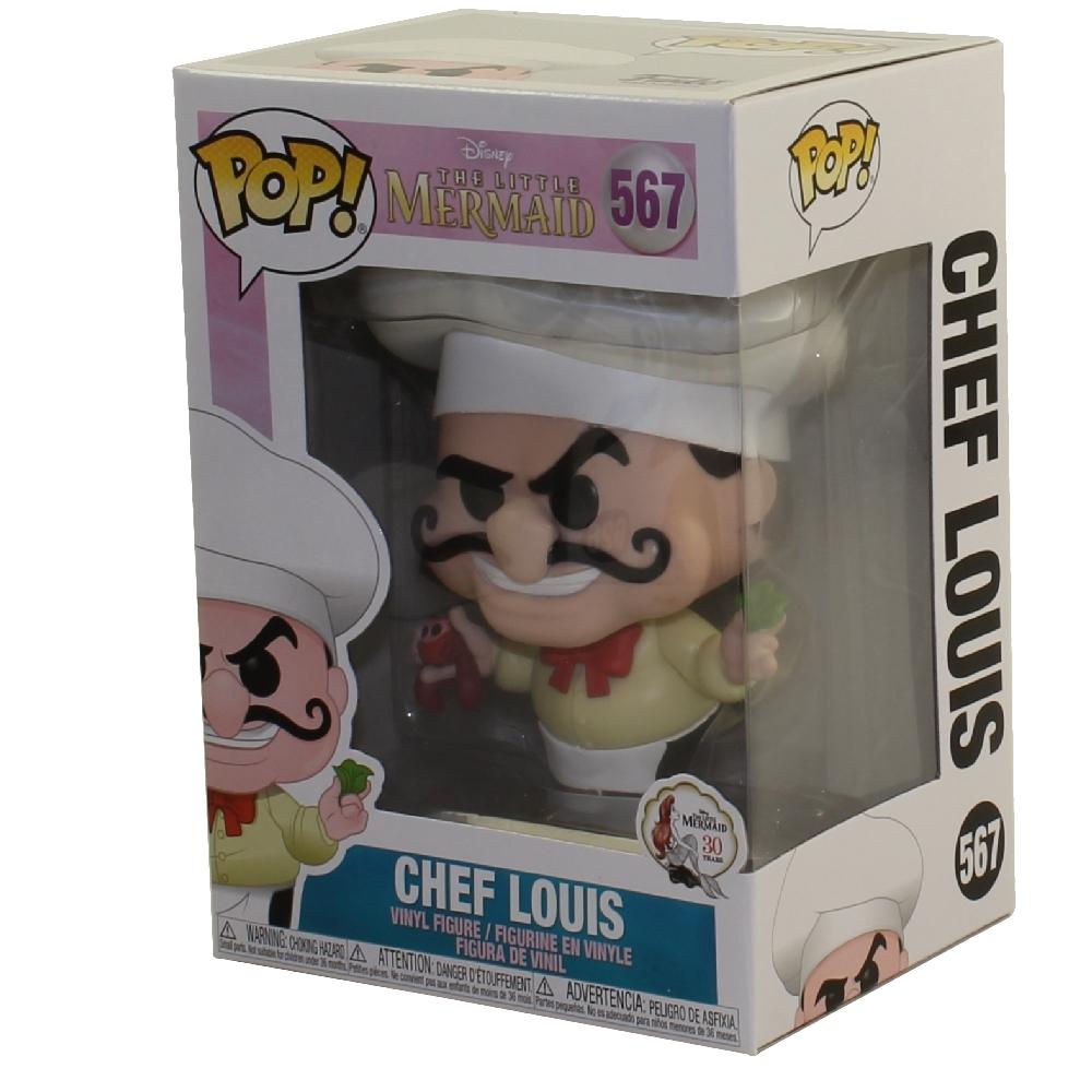 Vinyl Chef Louis Pop The Little Mermaid