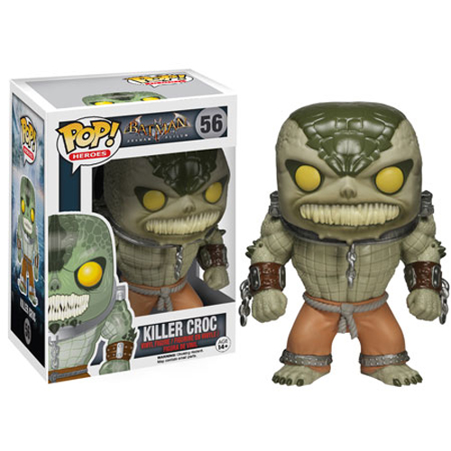 Funko POP! Batman Arkham Asylum Figure - KILLER CROC #56