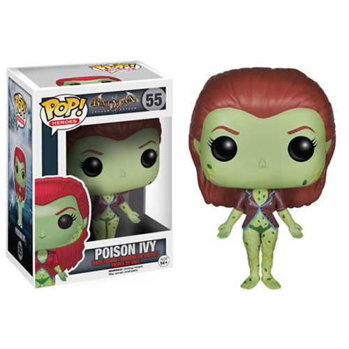 Funko POP! Batman Arkham Asylum Figure - POISON IVY #55