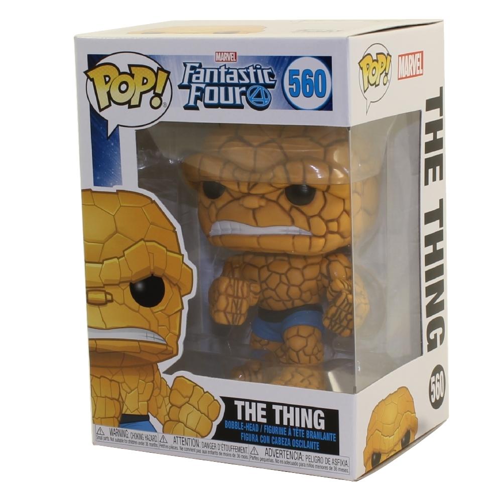 Funko Pop Vinile Marvel Fantastici 4 la cosa Bobble Head FIGURINA #560