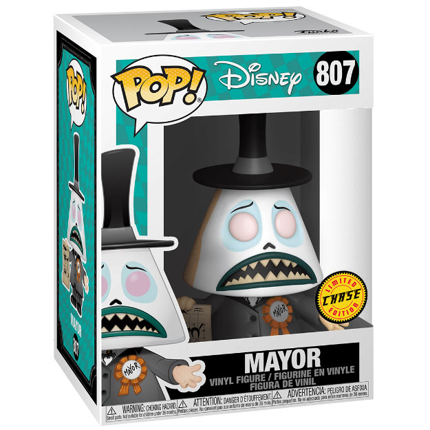 VINYL NIGHTMARE BEFORE CHRISTMAS MAYOR WITH POSS CHASE EDITION FUNKO POP