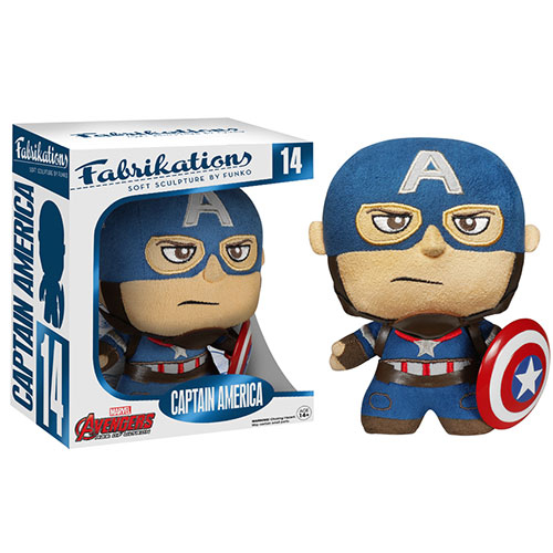 Funko Fabrikations - Soft Sculpture - Avengers Age of Ultron - CAPTAIN AMERICA