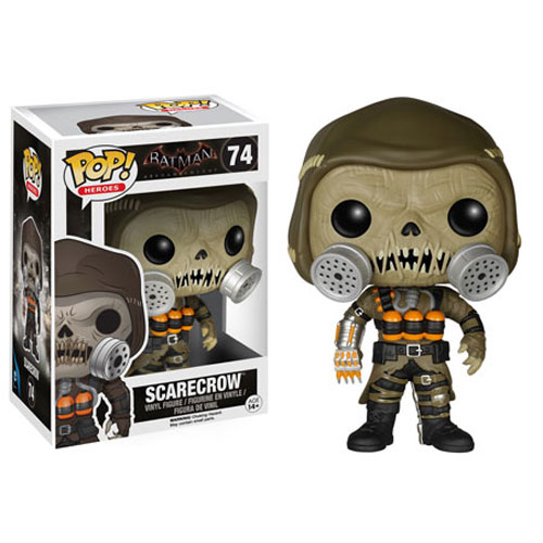 Funko POP! Batman Arkham Knight Vinyl Figure - SCARECROW #74