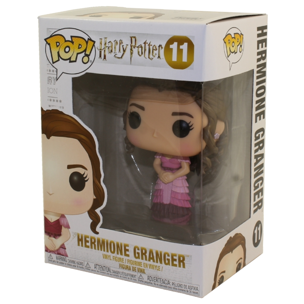 Harry Potter-Hermione Yule Ball Brand New in Box Funko-Pop Movies