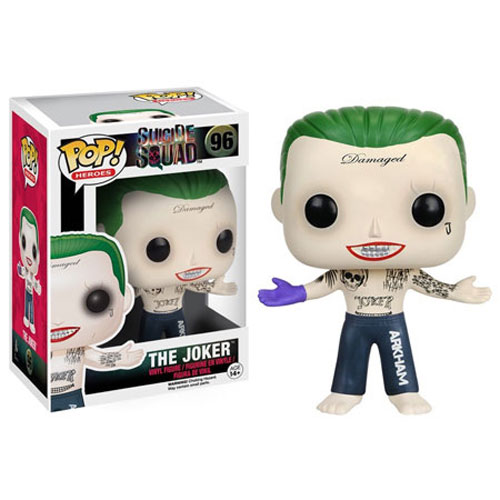Funko POP! Suicide Squad - Vinyl Figure - JOKER (Shirtless)