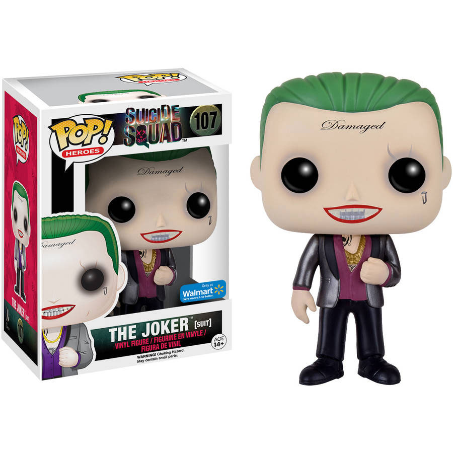Funko POP! Suicide Squad - Vinyl Figure - THE JOKER (Suit) *Walmart Exclusive*