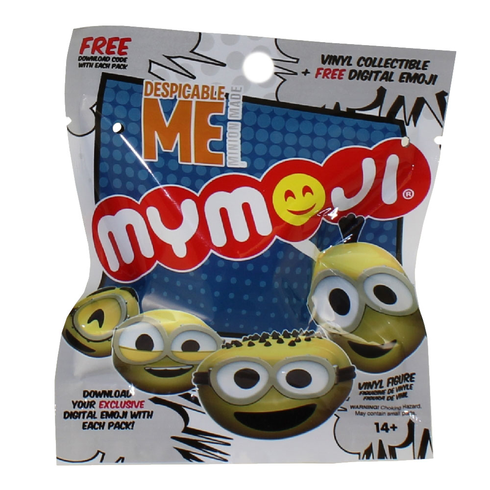 Funko Mymojis Toys Plush Trading Cards Action Bott Pop Fnaf Chica 108 Mymoji Minions Emoticons Faces Blind Pack 1 Random Face 15