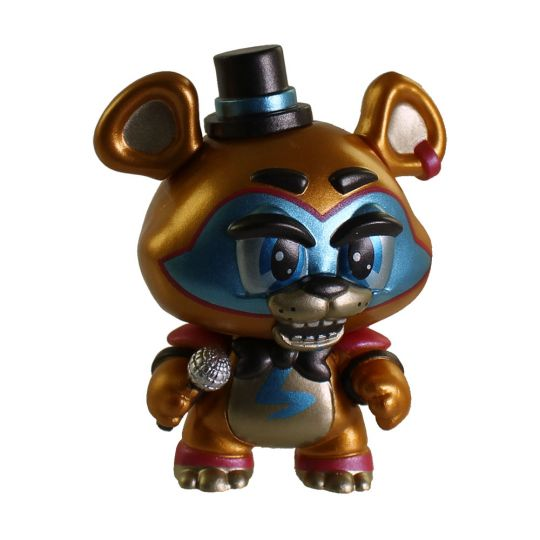 Funko Mystery Minis Figure Fnaf Security Breach Glamrock Freddy Metallic 1 72 Bbtoystore Com Toys Plush Trading Cards Action Figures Games Online Retail Store Shop Sale